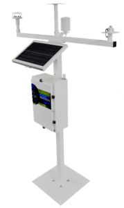 Portable AWS Station with T-Frame Mast