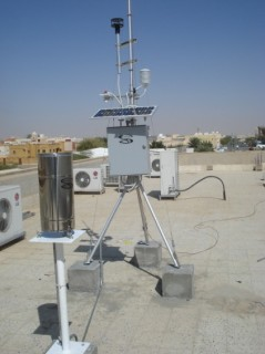 Roof-top Portable AWS Station in Morocco