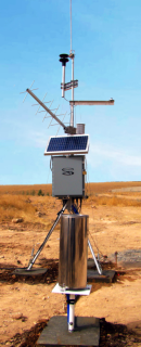 Portable AWS Station with Meteosat Telemetry in Iraq
