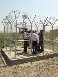 Agrimet station with ET in Ministry of Agriculture and Livestock, Afghanistan