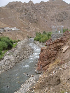 Stream Gauging  station in Bagh-i-lala, Afghanistan